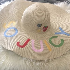 Juicy Couture beach hat